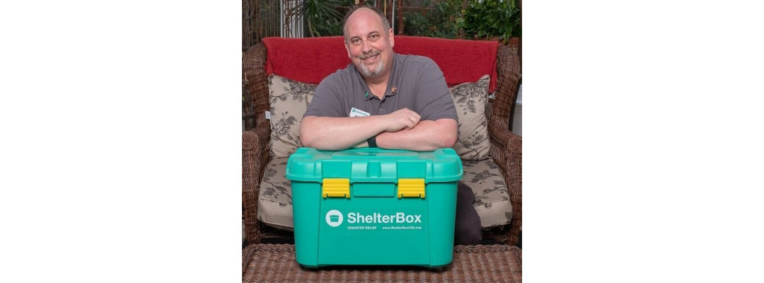 Guest Speaker, Bill Tobin, from Shelterbox USA