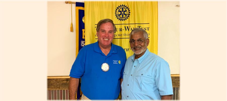 May 10 Noon Rotary